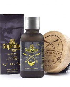 Bartöl Zedernholz der DUFT-SIEGER Supreme Bartbürste Set Bartpflege Männer