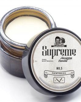 Bartwachs Vanille Havanna Cuba Duft Pflege von Bartstoppel© Supreme Serie